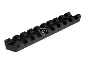 Aluminum 9 Slot KeyMod Long Rail Section for 45 degree panel