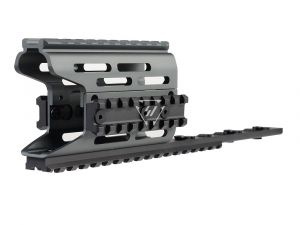 AK Modular / KeyMod Handguard Rail-TRAX 2 - Gray