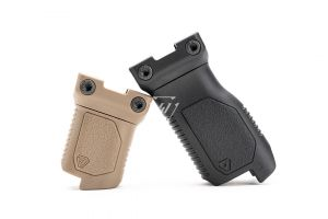 Angled Vertical Grip with Cable Management - Long or Short (Picatinny)