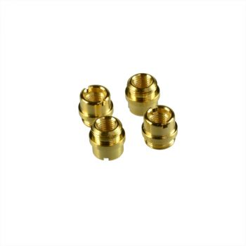 1911 Grip Screw Bushings with TRUE 24K GOLD COATING
