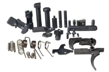 AR Enhanced Lower Receiver Parts with Trigger, Hammer and Disconnector
