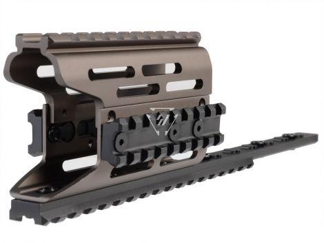 AK Modular / KeyMod Handguard Rail-TRAX 2 - FDE