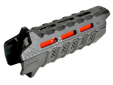 Handguard Carbine Length - Red Heat Shield (Blemished)