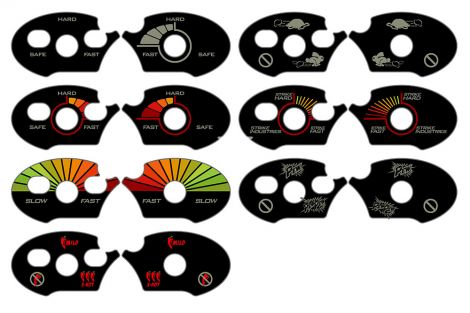 AR Lower Receiver Selector Stickers