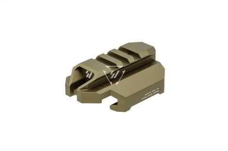 Stock Adapter Back Plate for CZ Scorpion EVO 3 - FDE