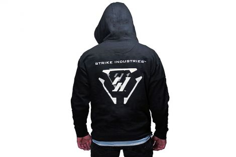 Strike Hard, Strike Fast! Zip Up Hoodie