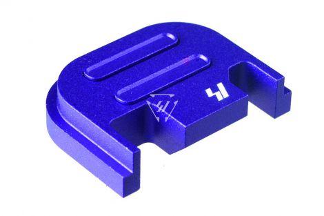 Slide Cover Plate for GLOCK™ G17-G39 - V2 - Blue (Blemished)