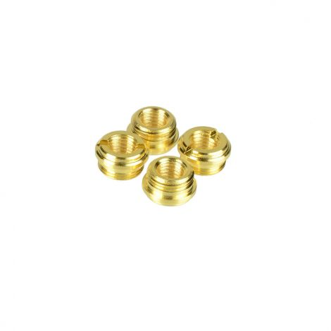 1911 Grip Slimline Screw Bushings with TRUE 24K GOLD COATING