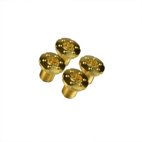 1911 Torx Grip Slimline Screws with TRUE 24K GOLD COATING