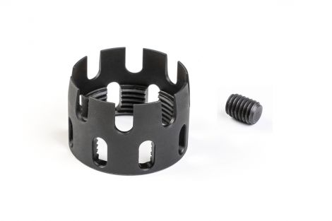 Spare Parts for AR Enhanced Castle Nut & Extended End Plate