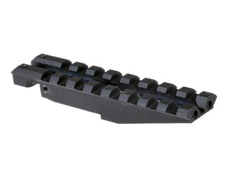 AK Rear Sight Rail For Low Profile Red Dot Optics
