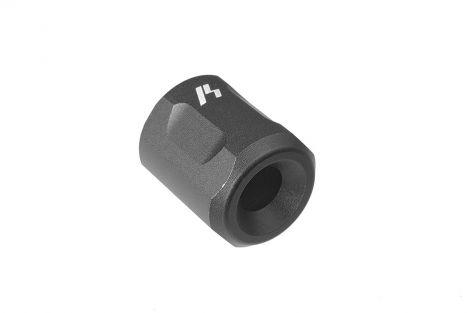 """Barrel Thread Protector (1/2""""-28 TPI) - Black (Blemished)"""