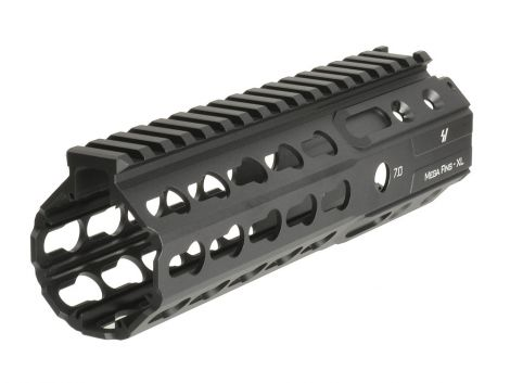 "MEGAFINS XL Rail with KeyMod - 7"" - Black (Blemished)"