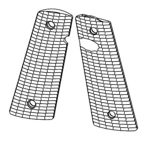 1911 PX™-14 Standard Size - Pistol Grips (Streamlined Pattern, Matte Finish)