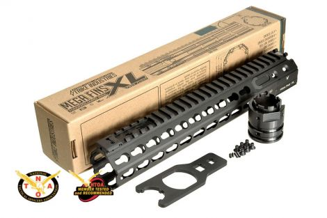 "MEGAFINS XL Rail with KeyMod - 7"" , 10"", 11"", 12"", 15"", 16.25"", 17"""