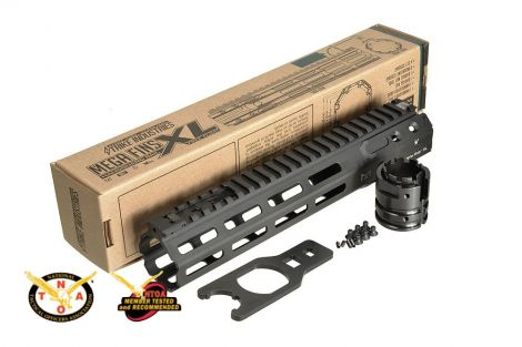 "MEGAFINS XL Rail with MLOK - 7"" , 10"", 11"", 12"", 15"", 16.25"", 17"""