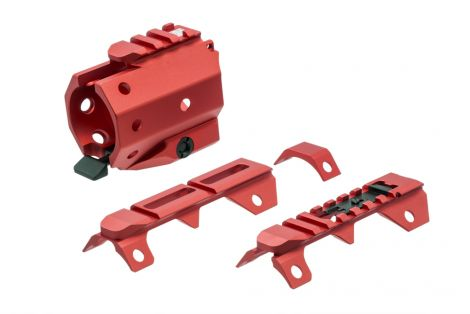 GRIDLOK Sight and Rail Attachments - Red (Blemished)