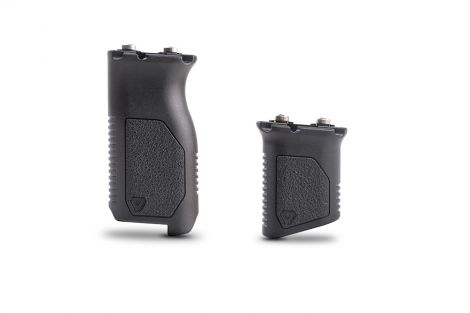 Angled Vertical Grip with Cable Management - Long or Short