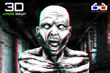 3D Zombie Target
