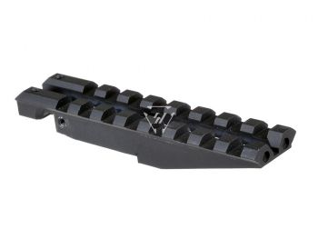 AK Rear Sight Rail For Low Profile Red Dot Optics