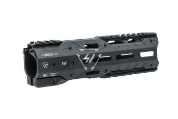 GRIDLOK Main Body with Sight and Rail Attachments - Black