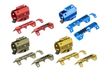 GRIDLOK Sight and Rail Attachments - All Colors