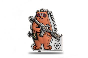 SI Bear Arms Patch